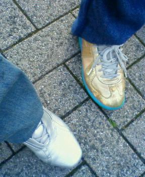 金の靴、銀の靴