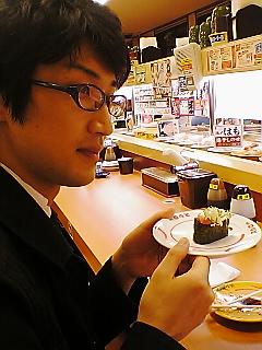 寿司、食いねぇ。